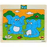 Spin Hacks Wooden Jigsaw Puzzle - Set of 6