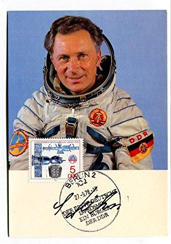 1978 Berlin 2 Erste Deutsche Kosmos Burger Der DDR SIGNED UdSSR Gemeinsamer NASA