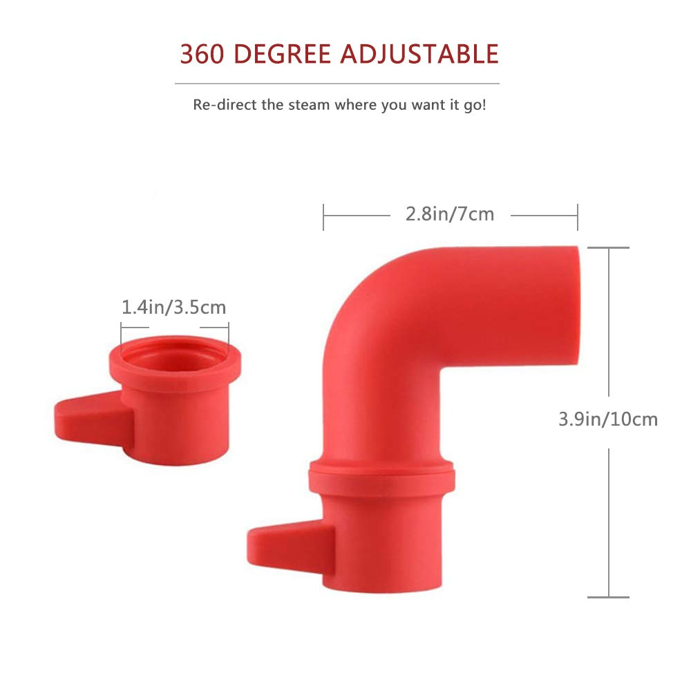 Instant Pot Steam Release Diverter Silicone Pressure Release Accessory 360° Rotating Design for Instant Pot or Pressure Cooker by Pro-like (Image #2)