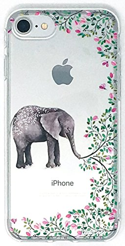 YogaCase InTrends Phone Case, Compatible with iPhone 5c (Elephant Flowers)