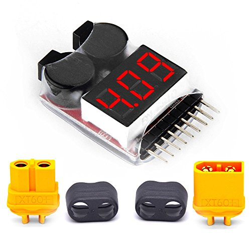 1-8S LED Lipo Voltage Indicator Checker - 6