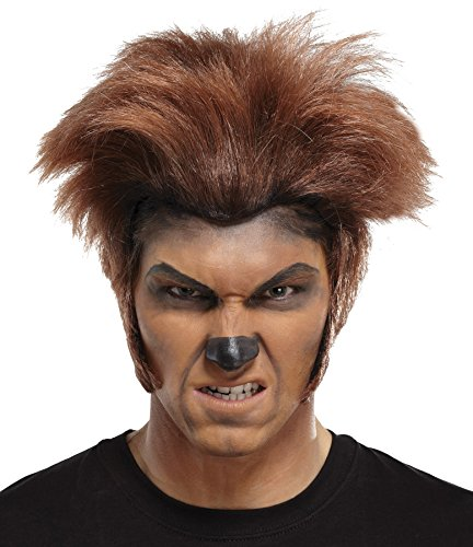 UHC Wolfman Wig Scary Werewolf Beast Monster Theme Halloween Costume Accessory