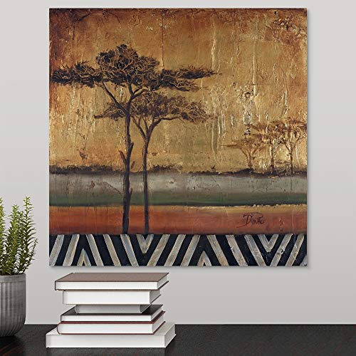 African Dream I Canvas Wall Art Print, 16 x16 x1.25