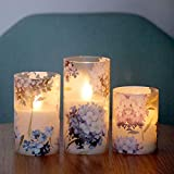 SILVERSTRO LED Candles Blinks with 6H Timer, Love