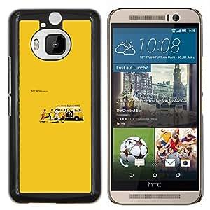 "Be-Star Único Patrón Plástico Duro Fundas Cover Cubre Hard Case Cover Para HTC One M9+ / M9 Plus (Not M9) ( Miss Sunshine"" )"