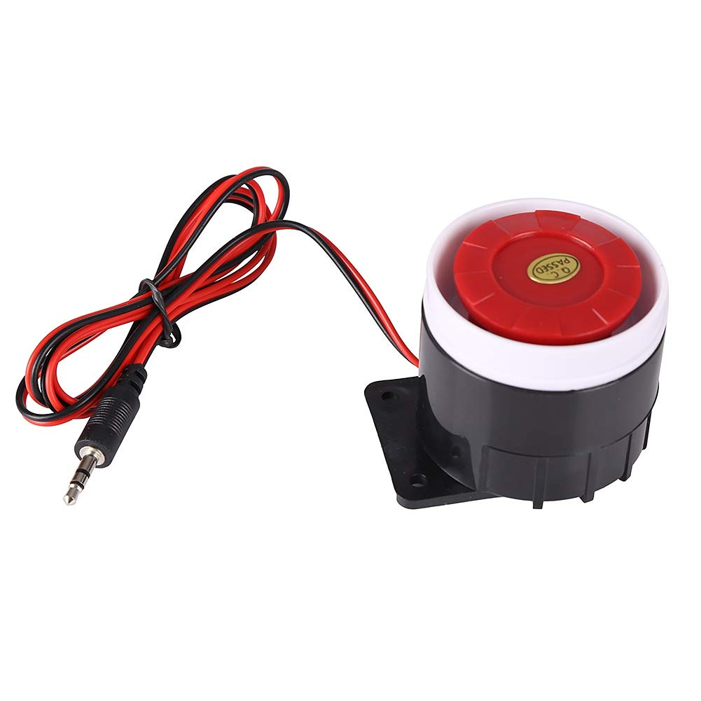 Forart 31ft 95cm Indoor Wired Piezoelectric Buzzerdc 12v Mini Waterproof Piezo Electric Buzzer Alarm Sounder Horn Siren