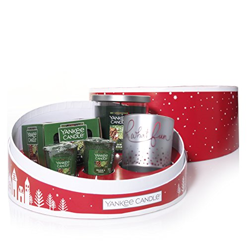 Yankee Candle Company 1552459 Sentiment Candle Christmas Gift Set