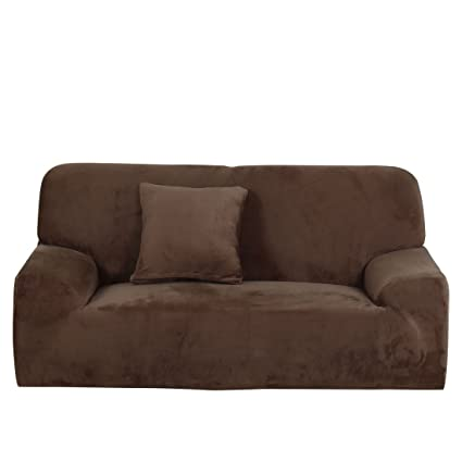 Uxcell Stretch Flannel Sofa Slipcover 4Seater Sofa Cover Chair Covers Protectors  Couch Covers Featuring Soft Form