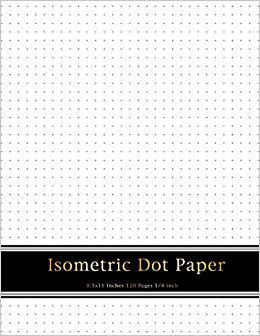 Isometric Dot Paper | Amazon Com Isometric Dot Paper 1 4 Inch Distance Between Dotted