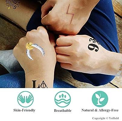 Tatuajes temporales de mago YoHold con 6 estilos diferentes de ...