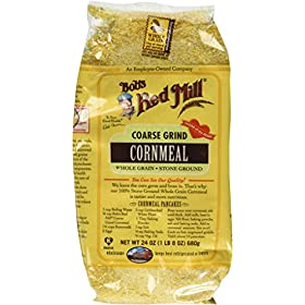Bob's Red Mill Cornmeal Coarse Grind 24.0 OZ (Pack of 2)