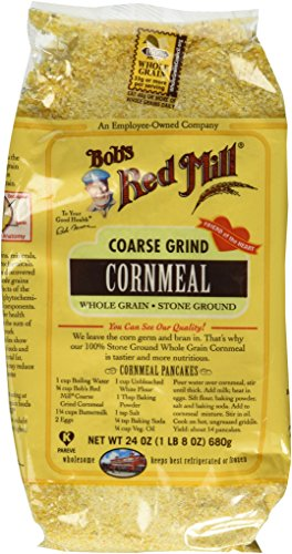 (Bob's Red Mill Cornmeal Coarse Grind 24.0 OZ (Pack of 2))