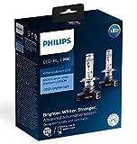 Philips X-tremeUltinon LED H4 bi-LED Bulbs Set of 2x Bulbs 6500K +200% 12901HPX2