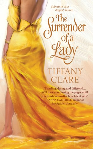 book cover of The Surrender of a Lady