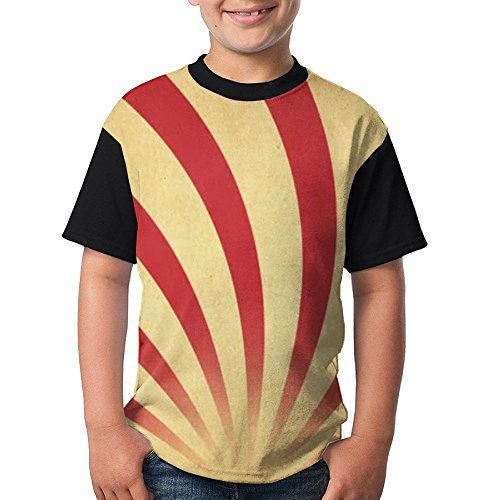 LANGEGE Red Circus Youth Boys/Girls Summer Short Sleeve Tops T-Shirt for $<!--$12.79-->
