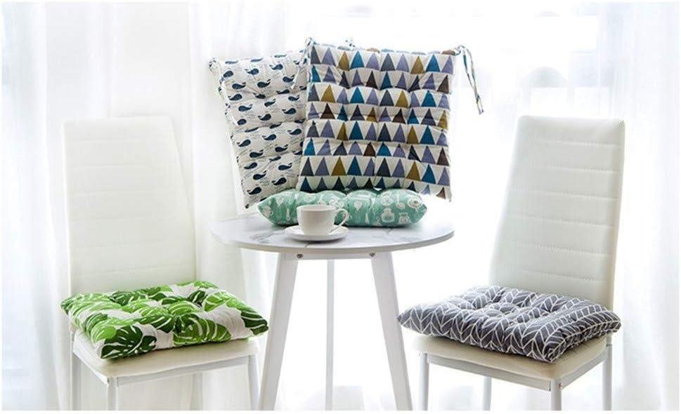 Zuo Set di Cuscini di Seduta 4 40 x 40 cm Platz A+ Color : A, Size : 40cmX40CM terrazza Balcone Farbdreieck Cuscini for sedie Giardino