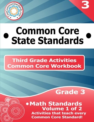 Download Third Grade Common Core Workbook: Math Activities: Volume 1 of 2 pdf epub