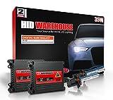 HID-Warehouse 35W HID Xenon Conversion Kit with Premium Slim Ballast - 9005 8000K - Medium Blue - 2 Year Warranty