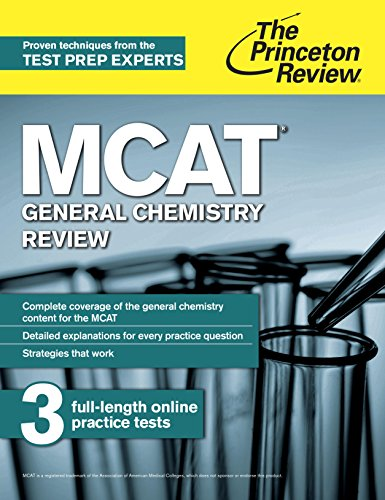 The Princeton Review MCAT General Chemistry Review (1st 2015) [Princeton Review]