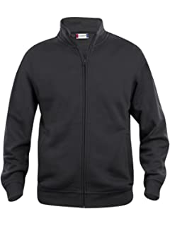 924d616cc8ddca CqC Mens Zipped Sweatshirt Jacket- Plain Colour- No Logo- Medium Weight Zip  Sweater