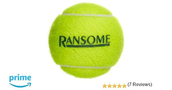 Ransome Sporting Goods - Pelotas de tenis (pack de 12), color verde: Amazon.es: Deportes y aire libre