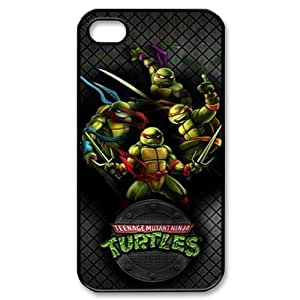 CTSLR Teenage Mutant Ninja Turtles TMNT Hard Case Cover Skin for Apple iPhone 5 5s- 1 Pack - Black/White - 2- Perfect Gift for Christmas