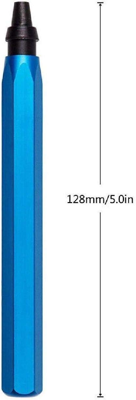 Dyna-living Outil d/ébavurage M/étal Main Ebavureur d/ébavurage avec Ensemble de 15 Pcs Rotatif Deburr Lames pour Plastique Cuivre et Acier Aluminium