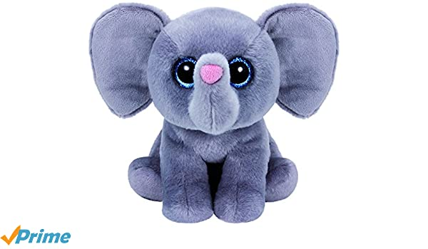 Ty - Classics Whopper, Elefante de Peluche, 23 cm, Color Gris (90230TY): Amazon.es: Juguetes y juegos