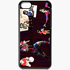 XiFu*MeiPersonalized iphone 5/5s Cell phone Case/Cover Skin Lionel Messi FC Barcelona Football BlackXiFu*Mei