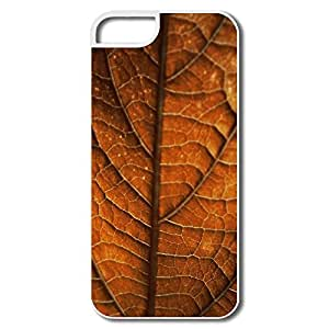 Case For Samsung Galaxy S5 Cover, Autumn Leaf Background White Cases Case For Samsung Galaxy S5 Cover