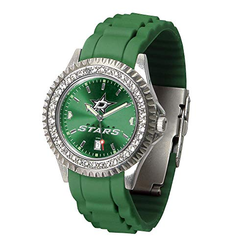 Game Time NHL Dallas Stars Womens SparkleWrist Watch, Team Color, One Size