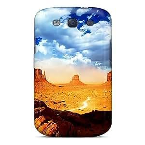 Excellent Design Desert Colors Phone Case For Galaxy S3 Premium Tpu Case