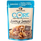 Wellness Core Simply Shreds Grain Free Wet Cat Food Mixer Or Topper, Shredded