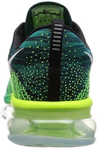 Nike Mens Dri-fit Manica Lunga Tech Polo Closeout Nero Bianco Chiaro Jade Volt 013