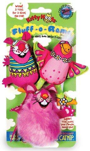 3PK Fluff Rama Cat Toy, My Pet Supplies