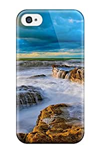 New Style 3657959K53513515 Iphone 4/4s Case Bumper Tpu Skin Cover For Waves Accessories