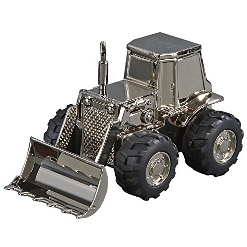 (Front Loader Bank in Silver Finish )