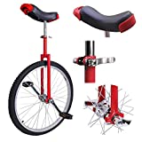"""Triprel Inc Professional 24"""" Inch Wheel Performance Trick Unicycle - RED"""