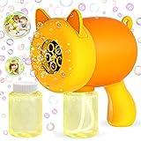 WisToyz Bubble Machine Bubble Blower Cat Bubble