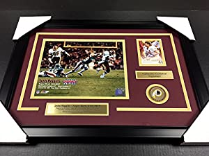 Signed John Riggins Photograph - Classic Framed 8x10 - Autographed NFL Photos