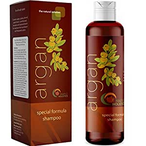 Argan Oil Colour Safe Shampoo for Beautiful Hair Natural Hair Care with Jojoba Avocado Almond Peach Kernel Camellia Seed and Keratin Daily Hair Moisturiser for Thick Curly and Thin Straight Hair Types