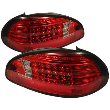 Spyder Auto ALT-YD-PGP97-LED-RC Pontiac Grand Prix Red/Clear LED Tail Light
