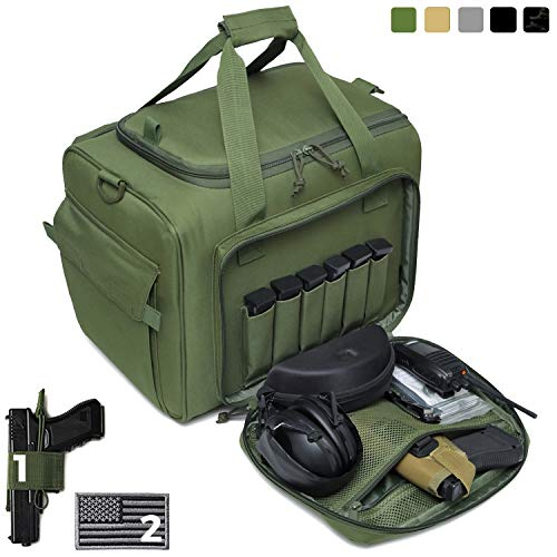 DBTAC Gun Range Bag Large | Tactical Pistol Shooting Range