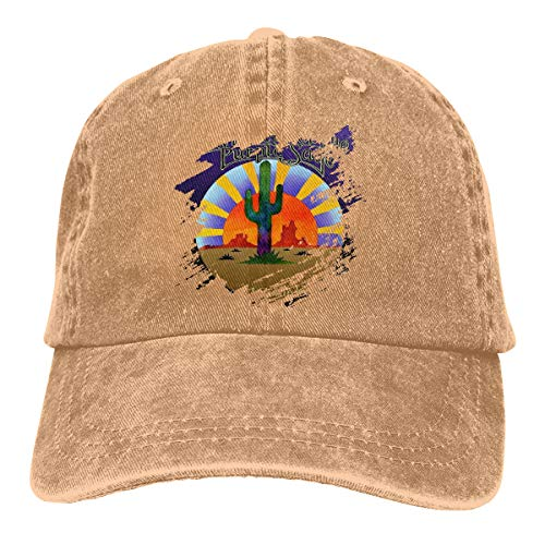 (Eonfine Unisex Men's&Woman Denim Baseball Hat Riders of The Purple Sage Where I Come Froms Washed Dyed Hats Adjustable )