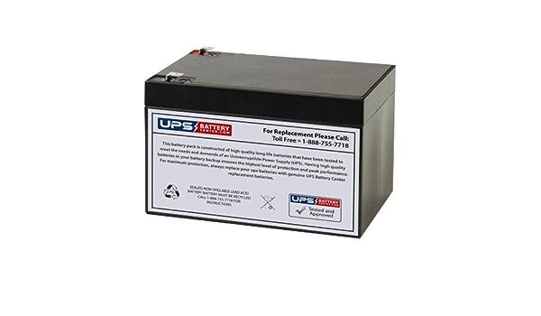 Ce Produit est Un Article de Remplacement de la Marque AJC/® Batterie Enduring 6DZM12 12V 14Ah Scooter