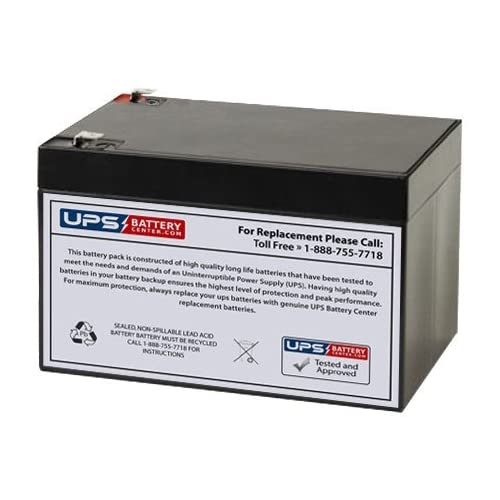 APC Back UPS ES 750VA BE750BB Compatible Replacement Battery by UPSBatteryCenter