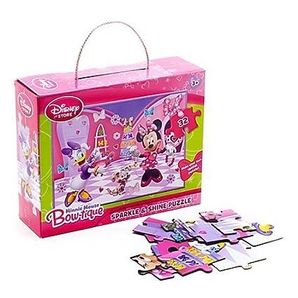 Buy Disney Minnie Mouse 24 Piece Sparkle & Shine Puzzle W