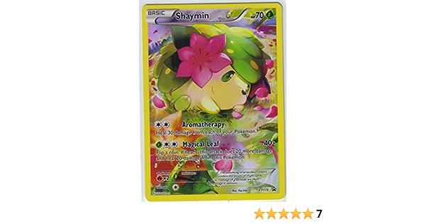 Holo Promo Near Mint Pokemon XY Promos VDF XY115 Shaymin