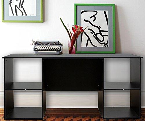Merax 60 Inch Console Table, Black