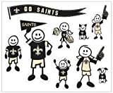 NFL New Orleans Saints Large Family Decal Set